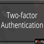 Website Security with Two–Factor Authentication